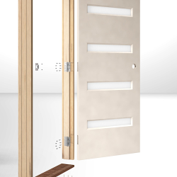 Easy Fit Door System 3D Animation